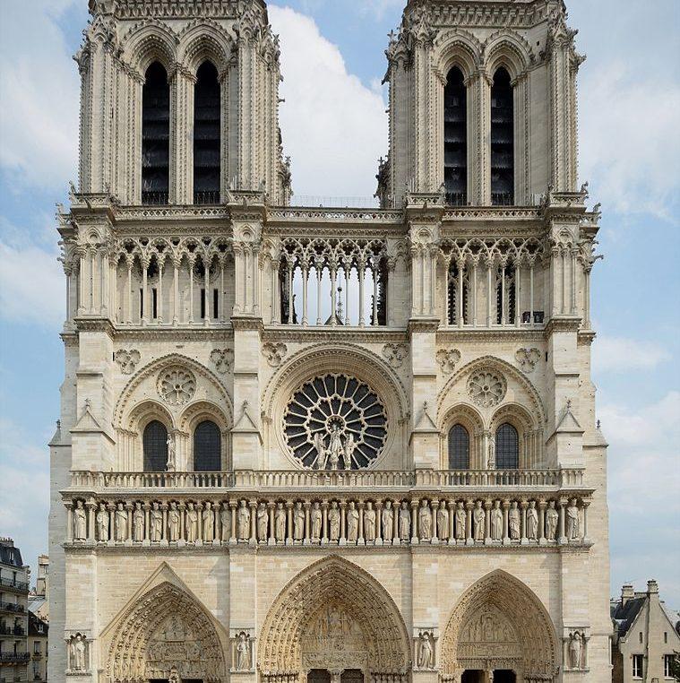 Our thoughts for Notre Dame de Paris
