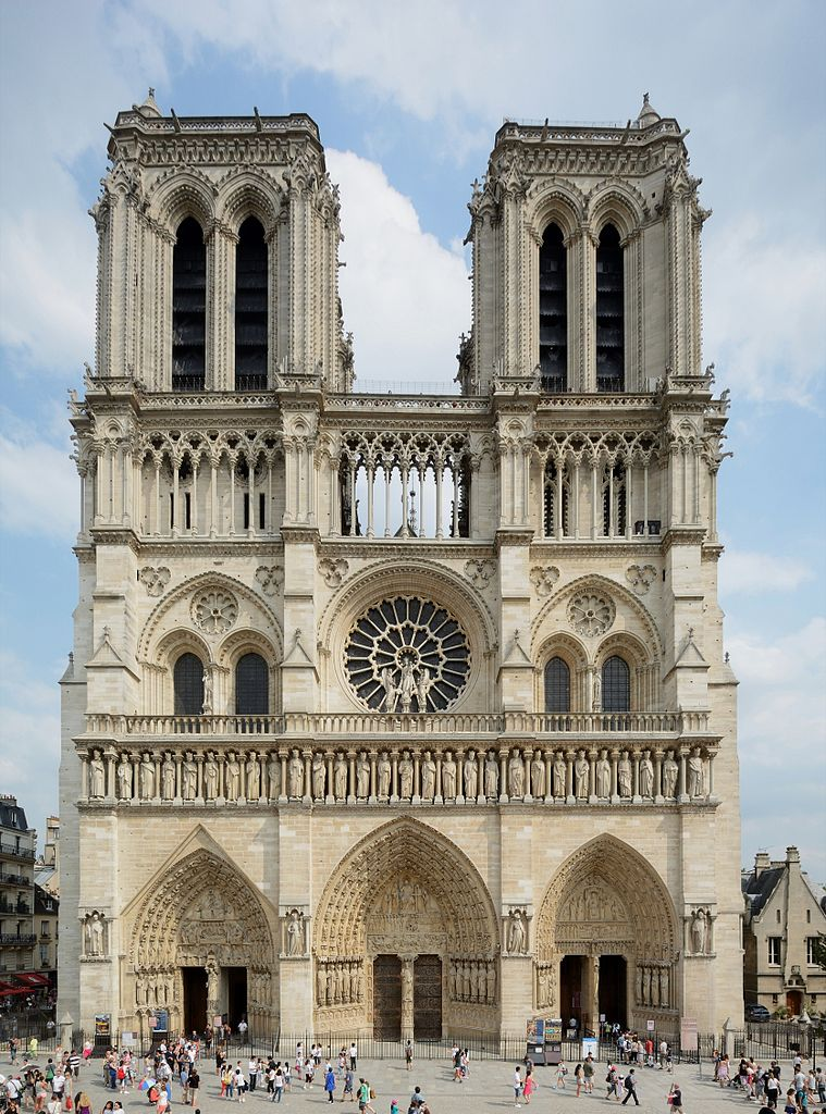 Our thoughts for Notre Dame de Paris