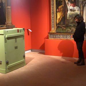 The Madonna Benois of Leonardo Da Vinci arrives in Fabriano