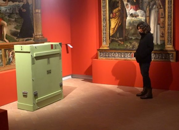 The Madonna Benois of Leonardo Da Vinci arrives in Fabriano