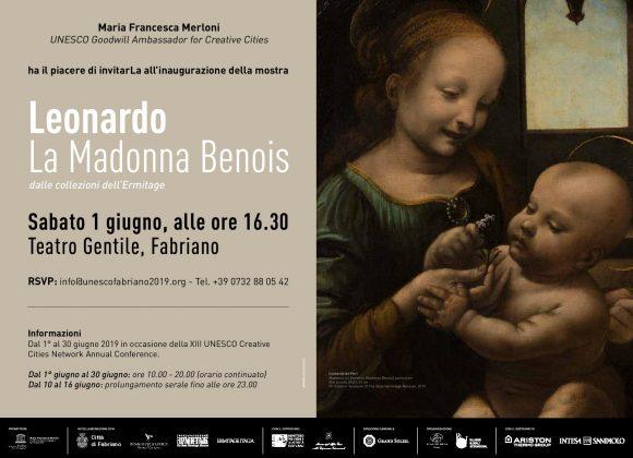 """Opening """"Leonardo. La Madonna Benois: dalle collezioni dell'Ermitage"""", 01 Giugno, 16.30"""