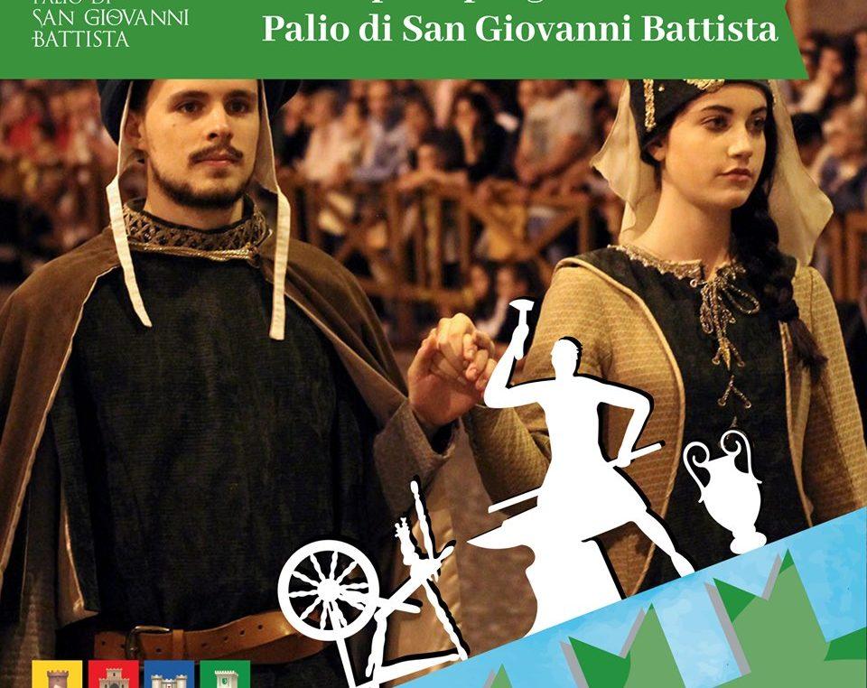 """Palio di San Giovanni Battista, """"A.D. 1406: Fabriano Città Creativa"""""""